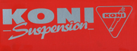 KONI Logo Sticker