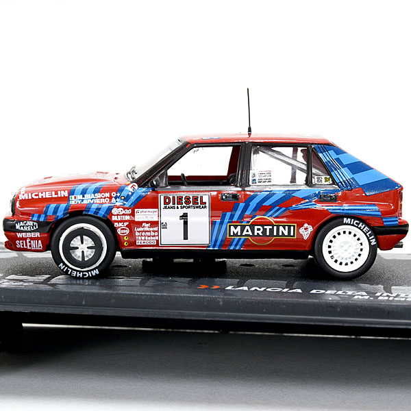 1 43 lancia delta hf integrale 16v 1989 sanremo miniature model italian auto parts gagets. Black Bedroom Furniture Sets. Home Design Ideas