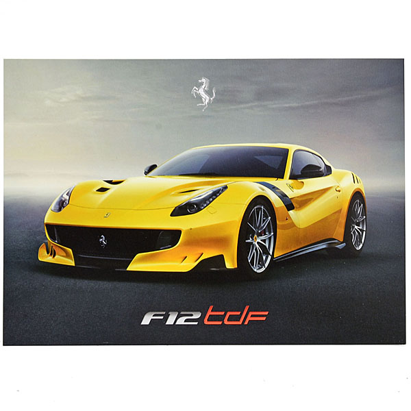 Ferrari F12 tdf Press Card