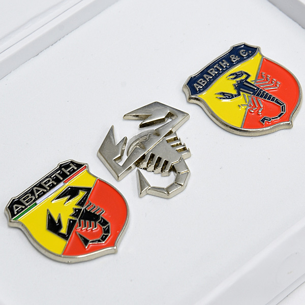 Abarth Pin Badge Set Italian Auto Parts Amp Gagets
