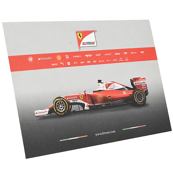 Ferrari SF16-H Press Card