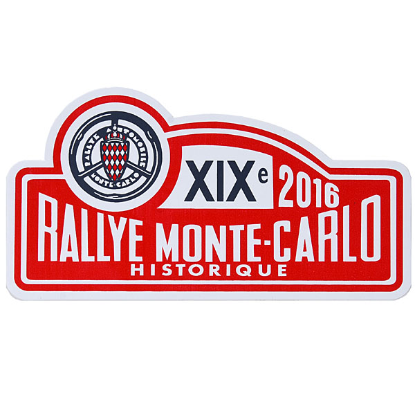 Rally Monte Carlo Histrique 2016ロゴステッカー
