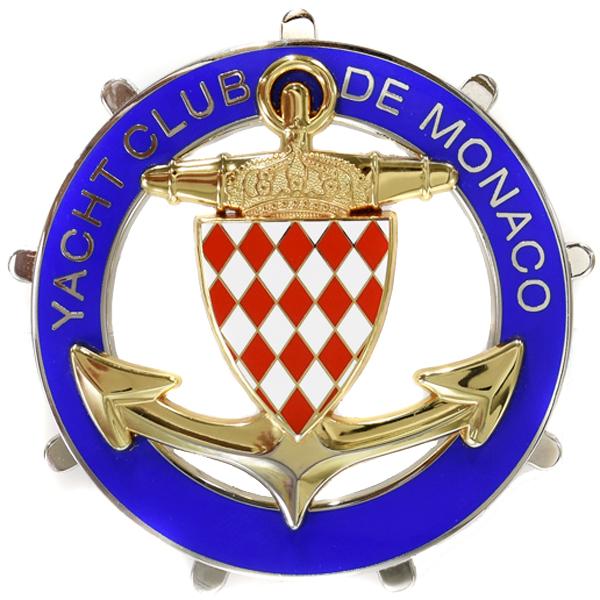 Yacht Club De Monaco Emblem For Member Italian Auto