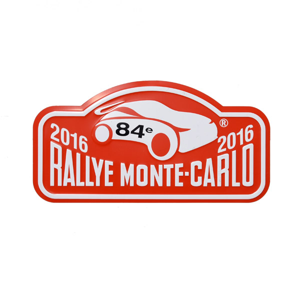 Rally Monte Carlo 2016 Official Metal Plate(Small)