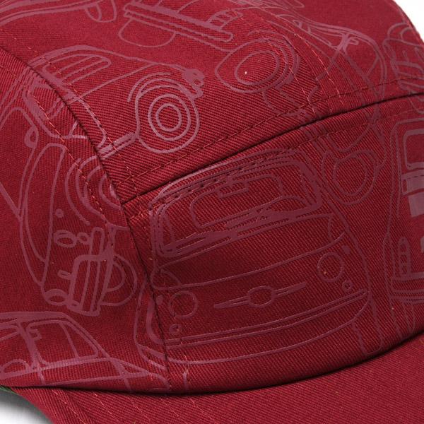 Alfa romeo red leather keyring 10
