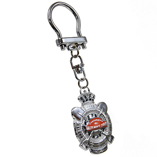 Rally Monte Carlo Official Emblem Shaped Keyring