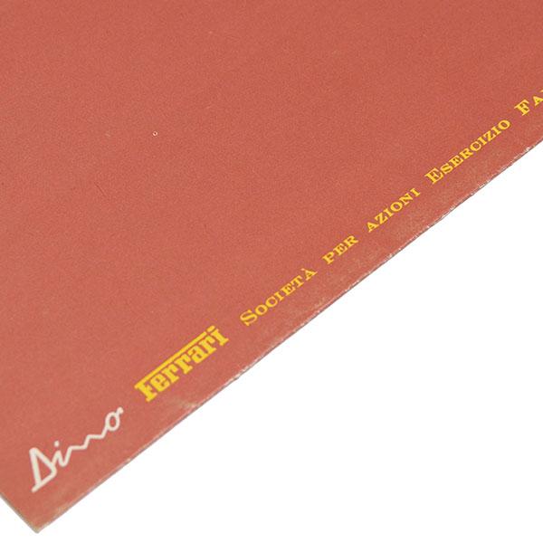 ferrari dino 246gt sales catalogue 1970  euro type2 first