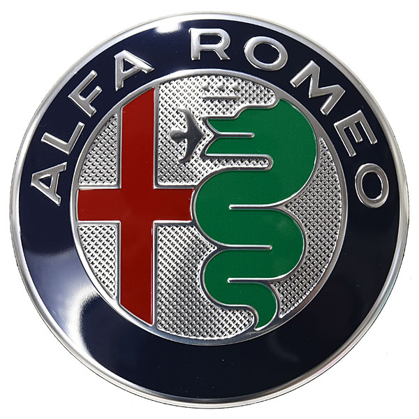 Alfa Romeo純正Newエンブレム<br><font size=-1 color=red>12/07到着</font>