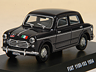 1/43 CARABINIERI Collection N.12 FIAT 1100/103ミニチュアモデル