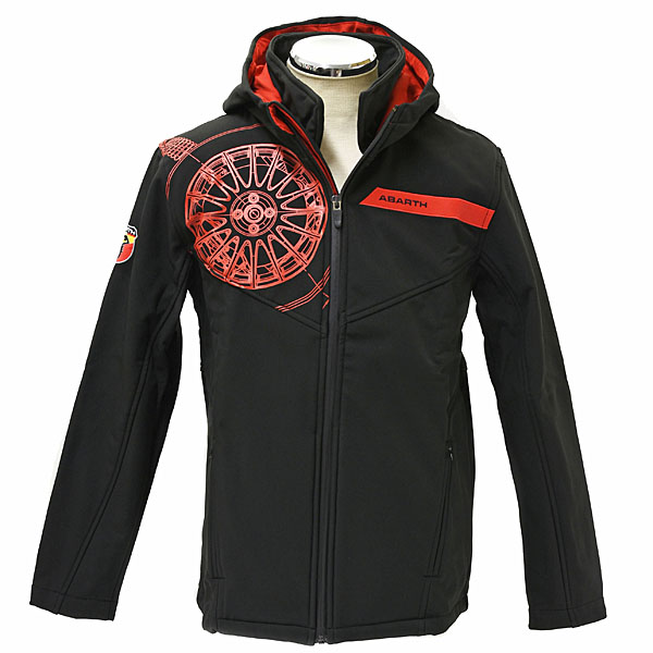 90d8583a25c4 ABARTH Soft Shell Jacket(Technical Black)
