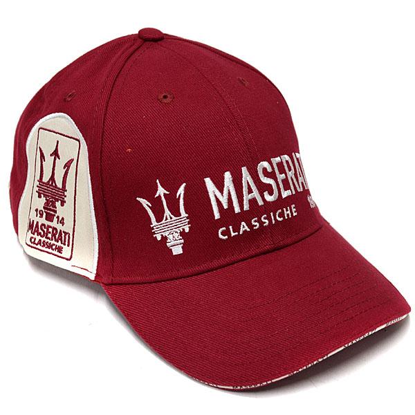 MASERATI Baseball Cap-Classiche Bordeaux- 7302fb1c64c