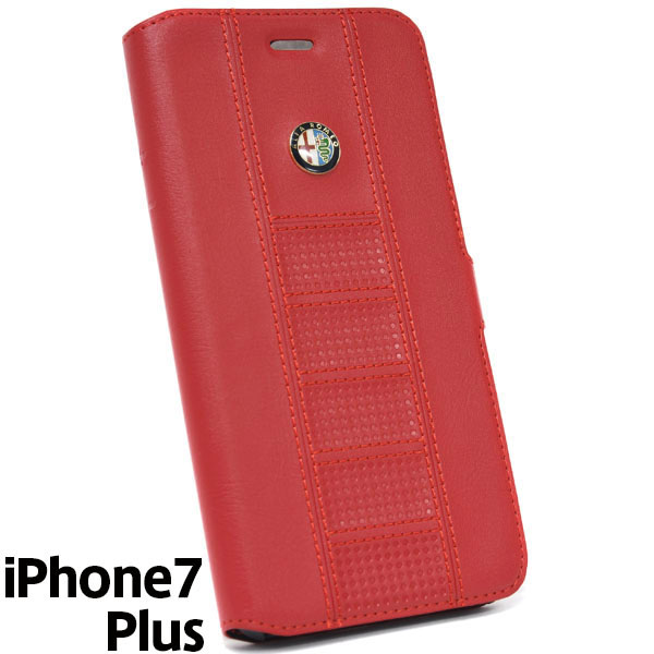 Alfa Romeo iPhone7/6/6s Plus Soft Case(Red)