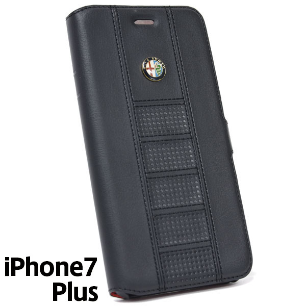 Alfa Romeo iPhone7/6/6s Plus Soft Case(Black)