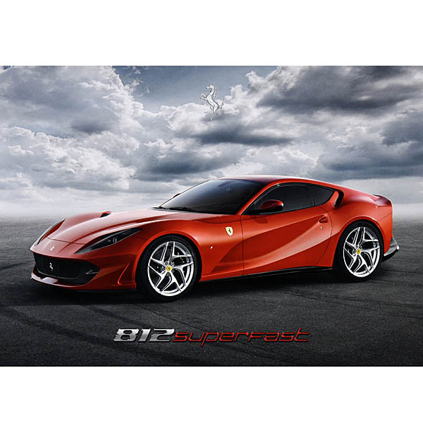 Ferrari 812 Superfast Presentation Card
