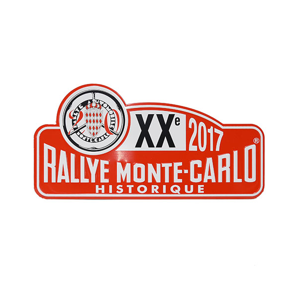 Rally Monte Carlo Historique2017 Official Metal Plate(Small)