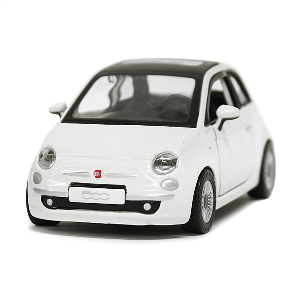 1/32 FIAT純正500ミニチュアモデル(ホワイト)<br><font size=-1 color=red>08/28到着</font>