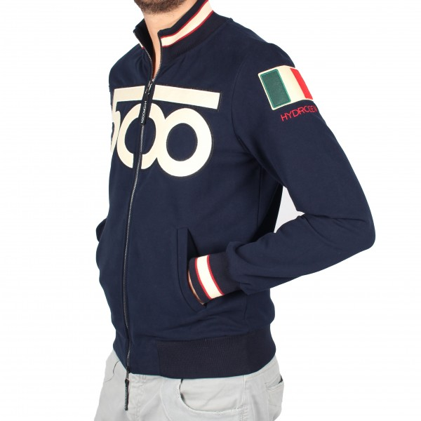 quality design 7dade 60181 FIAT 500 60anni Felpa By HYDROGEN : Italian Auto Parts & Gagets
