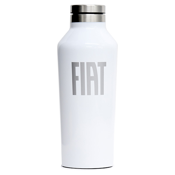 FIAT純正サーモボトル By CORKCICLE(ホワイト) 9oz<br><font size=-1 color=red>06/20到着</font>