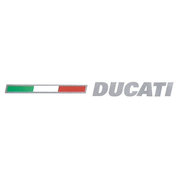 DUCATI Logo&Flag Stickers Set