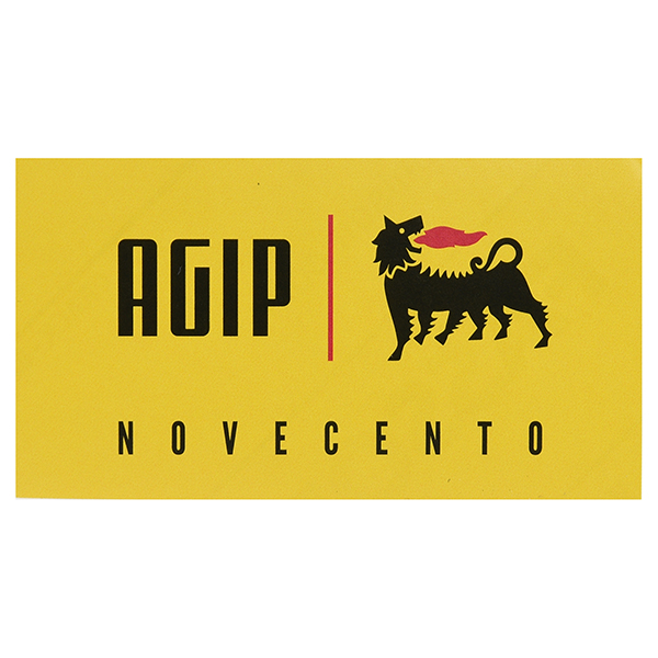 Agip NOVECENTO Sticker(80mm)
