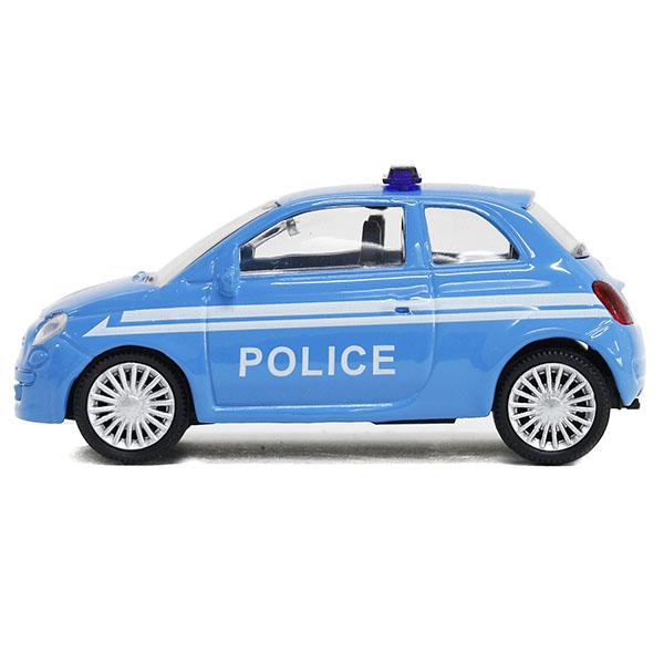 1 43 Fiat 500 Polizia Miniature Model Italian Auto Parts Gagets