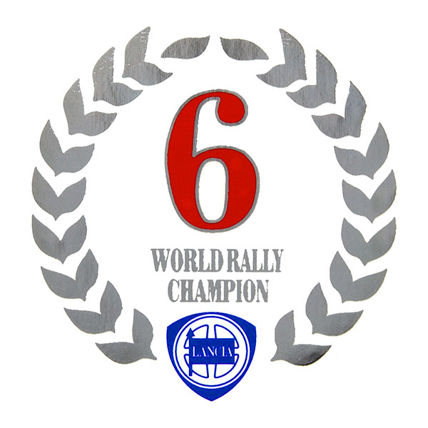 LANCIA DELTA WRC 6wins Memorial Sticker