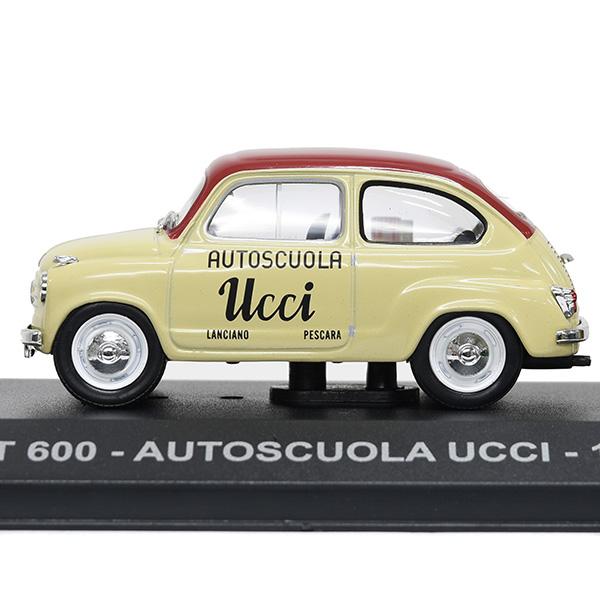 Fiat 600 Autoscuola Ucci 1955 1:43 Altaya Modellauto
