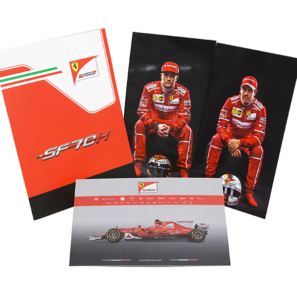 Scuderia Ferrari SF70H Press Kit