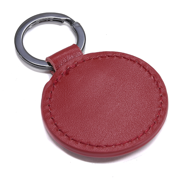 Branded Automotive Merchandise Vespa Leather Keyring