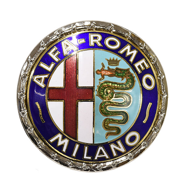 Alfa Romeo Milano七宝エンブレム<br><font size=-1 color=red>07/05到着</font>