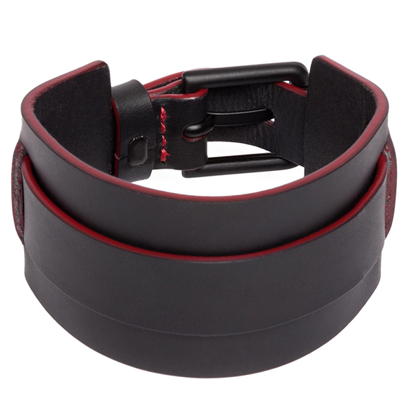 Moto Guzzi Official Leather Bracelet