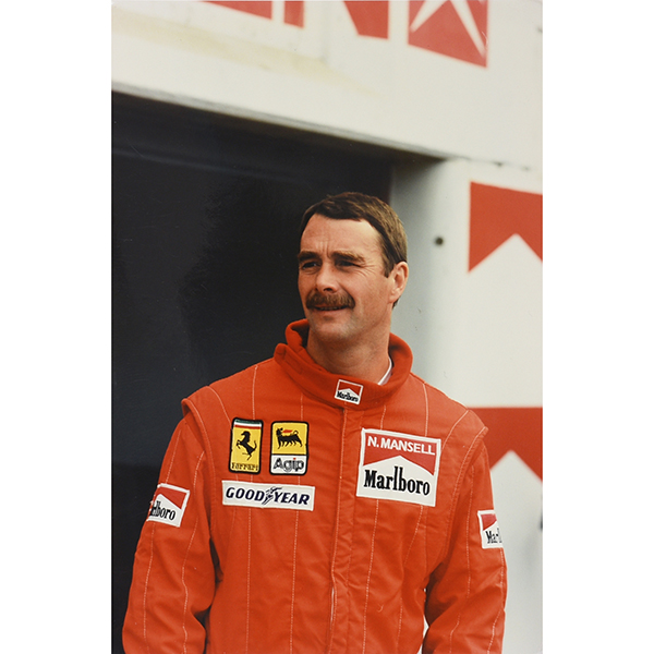 Scuderia Ferrari 1990 Official Press Photo(Mansell)