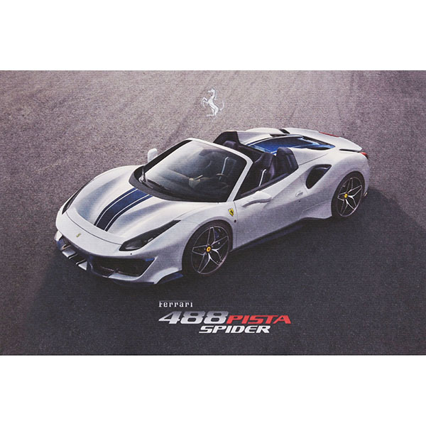 Ferrari 488Pista Spider echnical Card