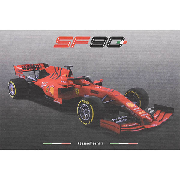 Scuderia Ferrari SF90 Technical Card
