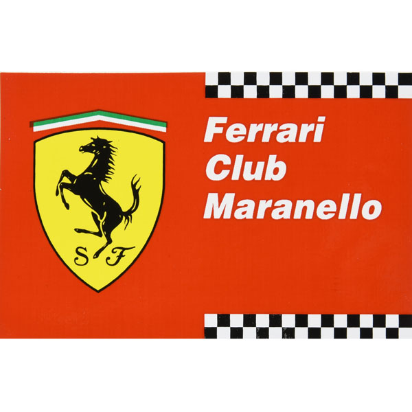 Ferrari Club Maranelloステッカー (Small)