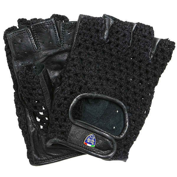 ASI Official Leather Driving Gloves(Black)