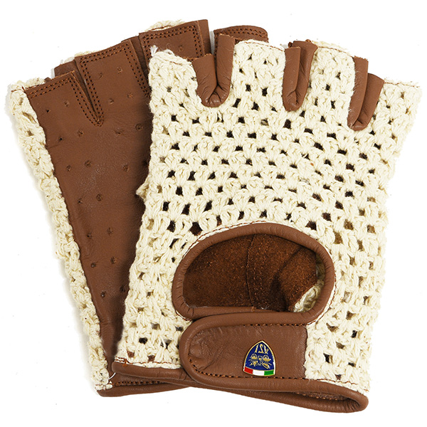 ASI Official Leather Driving Gloves(Brown)