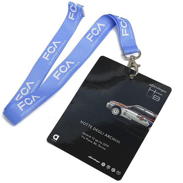 FCA Heritage HUB Official Neck Strap