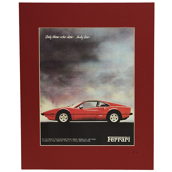Ferrari 308 -Only Those Who Dare... Truly Live- ポスター(プリント仕上げ)
