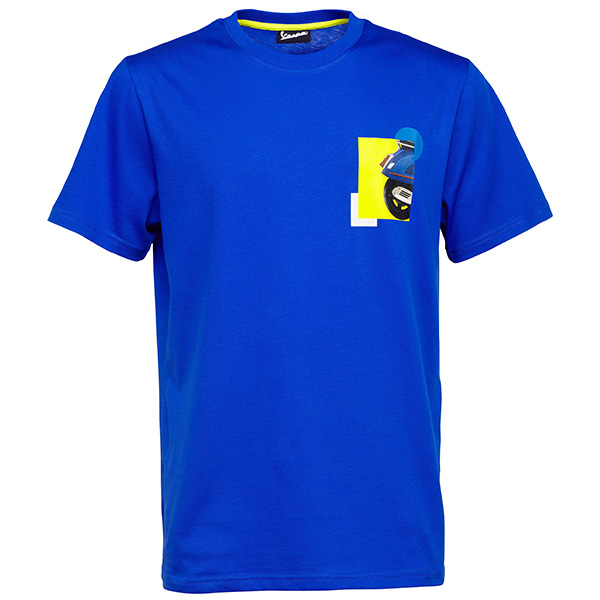 Vespa Official T-Shirts(Blue)
