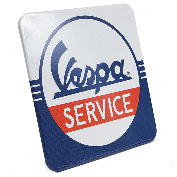 Vespa Official Metal Coaster-SERVICE-