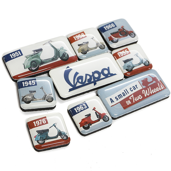 Vespa Official Magnet Set