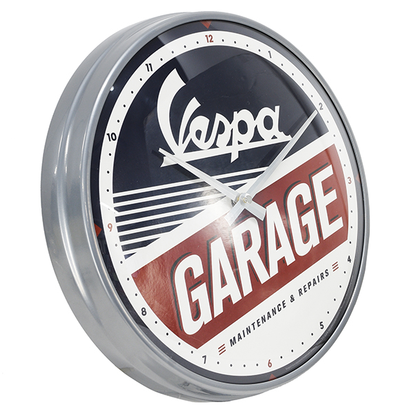 Vespa Official Wall Clock-GARAGE-