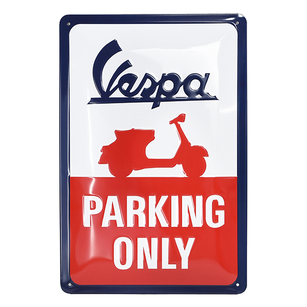 Vespa Official Sign Boad-PARKING ONLY-
