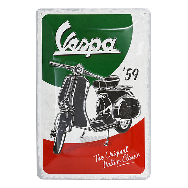 Vespa Official Sign Boad-Italian Classic-