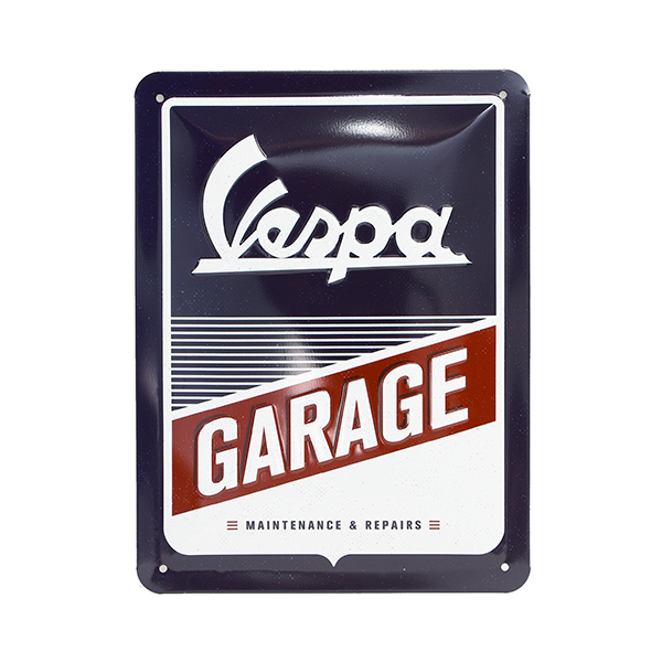 Vespa Official Sign Boad-GARAGE-(Small)