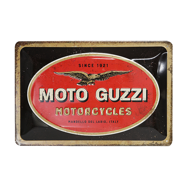 Moto Guzzi Official Sign Boad-MOTOR CYCLES-