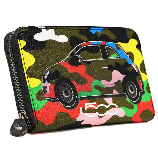 FIAT 500 Long Wallet-camouflage-by gabs