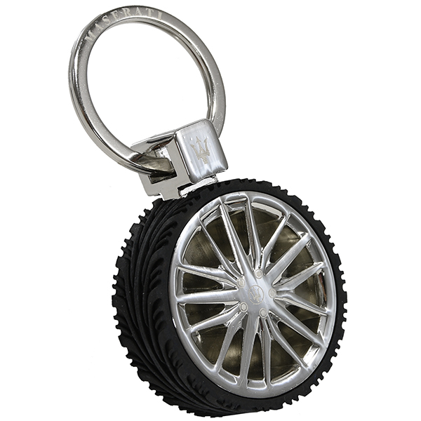 MASERATI Wheel Shaped Keyring(Quattroporte)