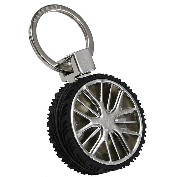 MASERATI Wheel Shaped Keyring(Levante)